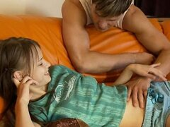 Great copulating of russian couple