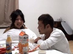 Kinky Japanese Couple Bang Bones After Breakfast