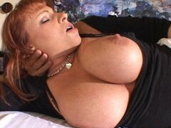 Busty Redhead Kylie Ireland Gets Ass Crammed With Cock!