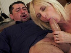 Diamond chick swallows sperm after doggy style