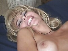 Ugly and nasty bitch Zarina sucks Mark Anthony's fat cock and gets pounded hard in a missionary position