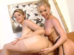 Monica Sweetheart and Silvia Saint taste each other's cunts