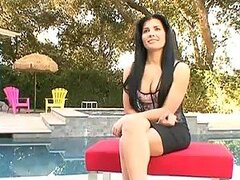 Lady May and Rebeca Linares In Brunette Group Sex