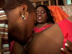 Lori Alexia rides her black BF's cock and gets facialed