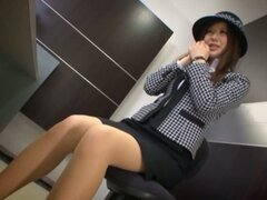 Kotone Amamiya Japanese Office Babe Has Sex