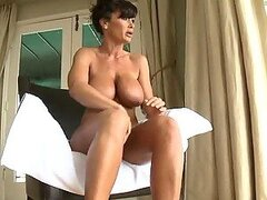 Hardcore Anal Sex after Massage for Chesty Brunette MILF Lisa Ann