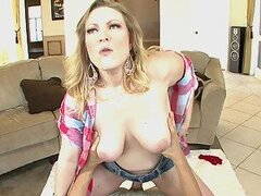 A Hard Fuck For A Horny Milf With An Amazing Rack