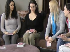 Strip Screw-Your-Neighbor with Zayda Lucretia Ashley Elise and Natalia
