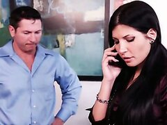 Rebeca Linares is a fine Spanish slut. Watch her close the deal in this office scene.