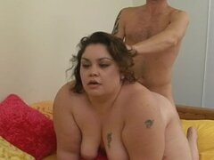 Handsome and brave Layla tastes fresh sperm in the room