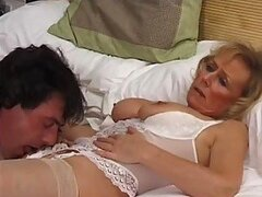 Mature Nurse With Hot Lingerie Gets A Creamy Fuck