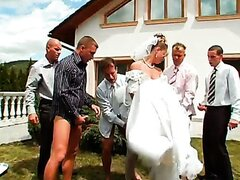 YOU MAY NOW GANGBANG THE BRIDE Miss Piss