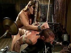 Extreme Female Domination By a Bitchy Blonde Babe
