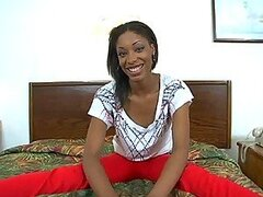 Hot Interracial Sex With An Ebony Cutie In POV Film