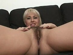 Hot Blonde MILF Daria Glower Gets Her Hairy Pussy Fucked and Creampied