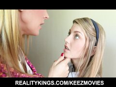 Cute young teen is seduced by her teacher and joins a threesome