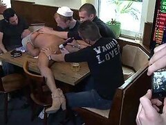 A Cheating Slut Gets Fucked By Many Men Before a Public Disgrace