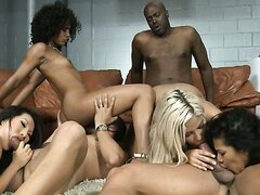 Interracial Orgy/Misty Stone, Emy Reyes, Bridgette B, Asa Akira. Part 4