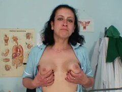 Mature mom got hairy pussy and uniform