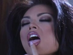 Sensual Tera Patrick in Diamond Face Bike Photoshoot in Black Underwear