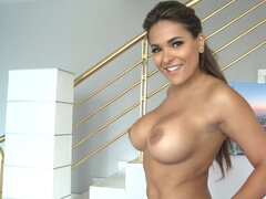 Hot Latina Valery Summer showing her gorgeous tits