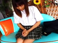 Arisa Minami is a very shy girl with men issues
