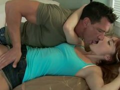 Zoe Voss kissing while getting fingered by hot dude