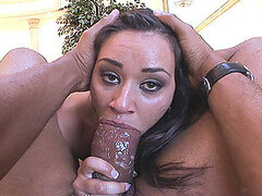 Charley Chase is lil' hussy who was all mouth as she newly showed up...