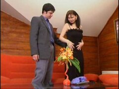 Hot Russian mature maid Irene gets boned