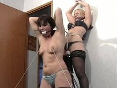 Mature BDSM video with a hot mils!