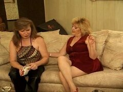 Mature woman orgy