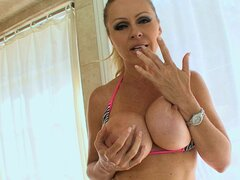 Slutty mom blows step son