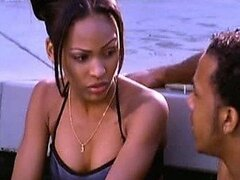 In The Hot Tub With Sexy Meagan Good