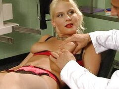 Saphyre German Lady fucked by Two Doctors