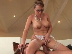 Milf teacher Holly West fucked hard