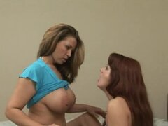 Mature Lesbian.  Nerd Hot Seduction Shayna & Lily