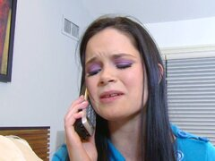 Brunette teen jenna j. ross blows and bangs boyfriend