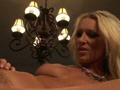 Playful bitches Diana Doll and Samantha Ryan please each other in a feisty lesbian sex video