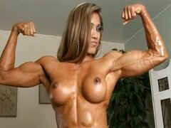 Thai Chick with muscles