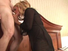 Slut Turns on Nice Cock by Dressing Up Sexy