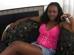 Nice Ebony With Hot Hard Nipples Big Breasts