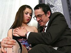 Innes is a sweet and innocent teen. Watch her get taken for a ride from an older guy.