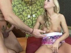 Barbie White fucked by horny daddy