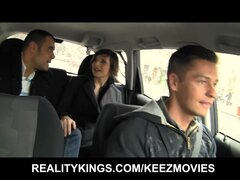Reality Kings - Flexible Russian chick double penetration