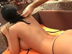 Hot-Ass Brunette Gets Titty Fucked and Anal.
