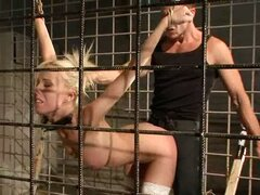 Training The Blonde Bitch To Become A Sex Slave