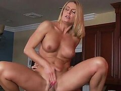 Mature Blonde Slut Takes Advantage Of Plumber Stud