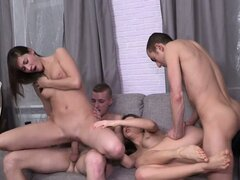 Young Swinger Pussies Take A Sweet Wrecking