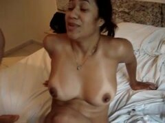Latin MILF fucked in a hotel