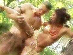 A Kinky Couple Leaves The Tribe To Get It On